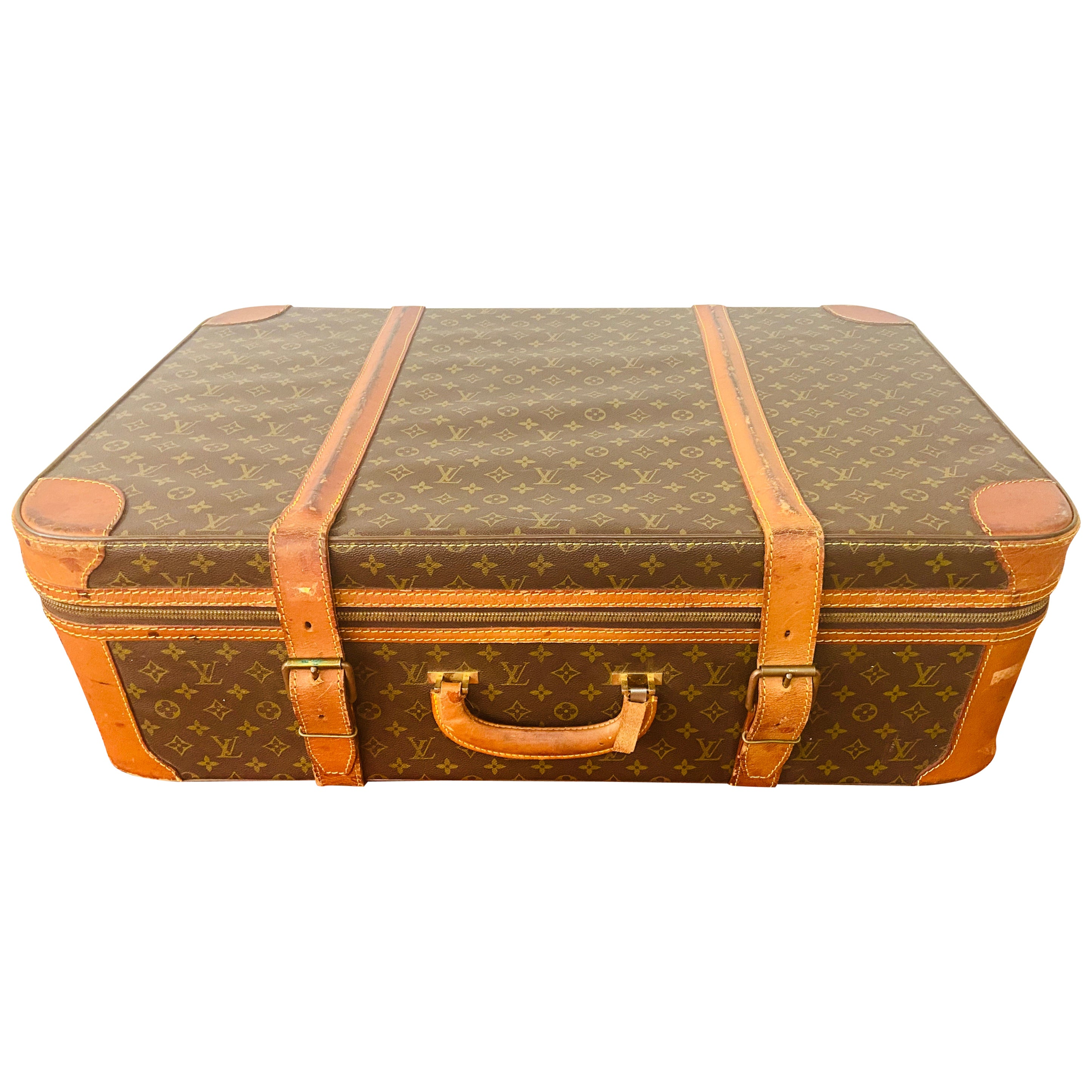Louis Vuitton Monogram Holdall Luggage Bag or Suitcase