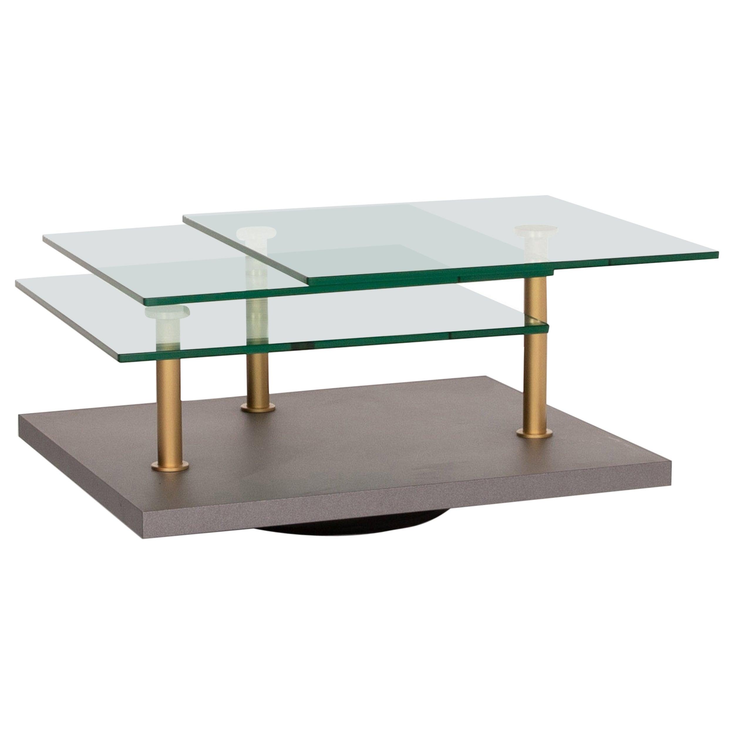 Ronald Schmitt K505 Glass Table Gray Coffee Table