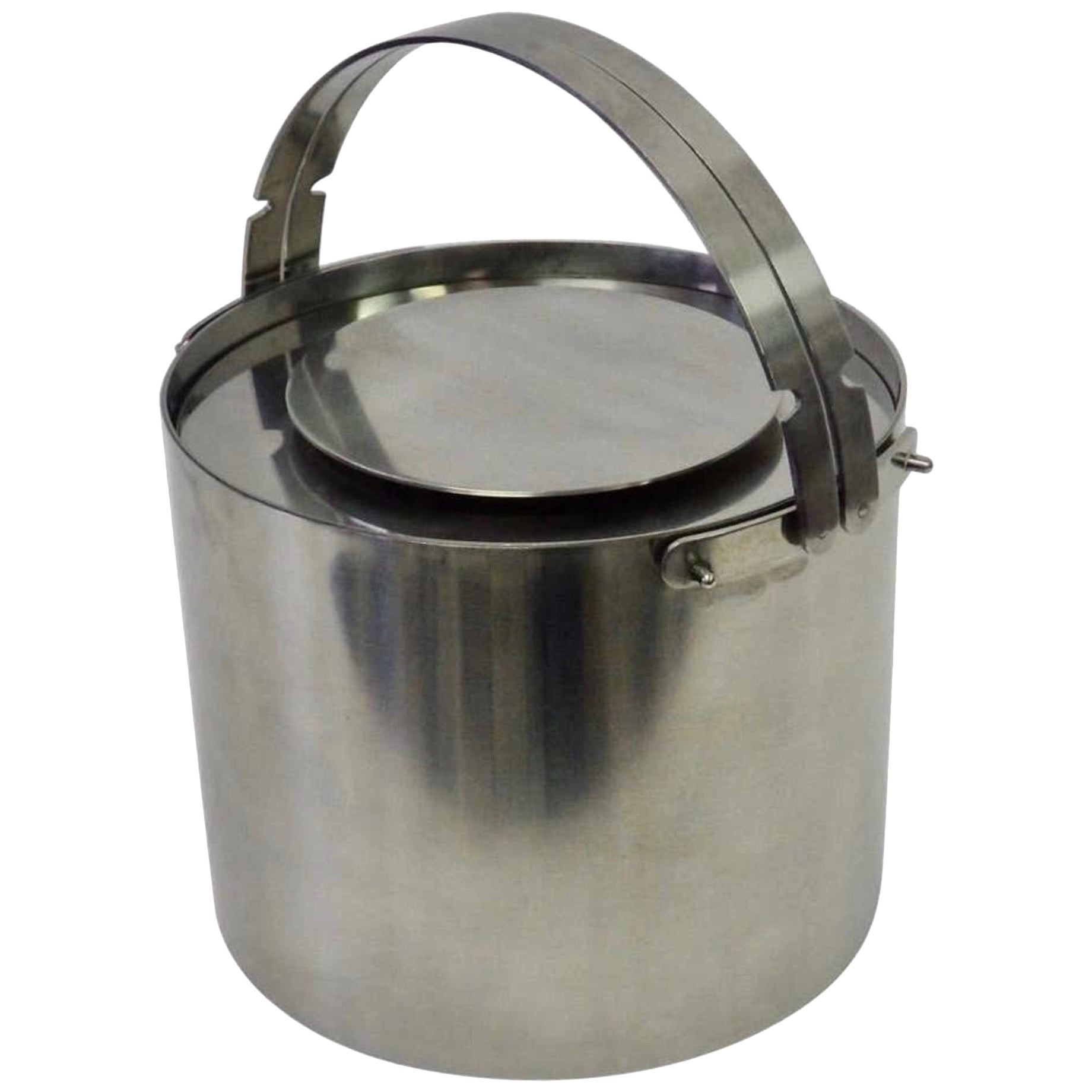 Arne Jacobsen Cylinda Series Stainless Steel Ice Bucket