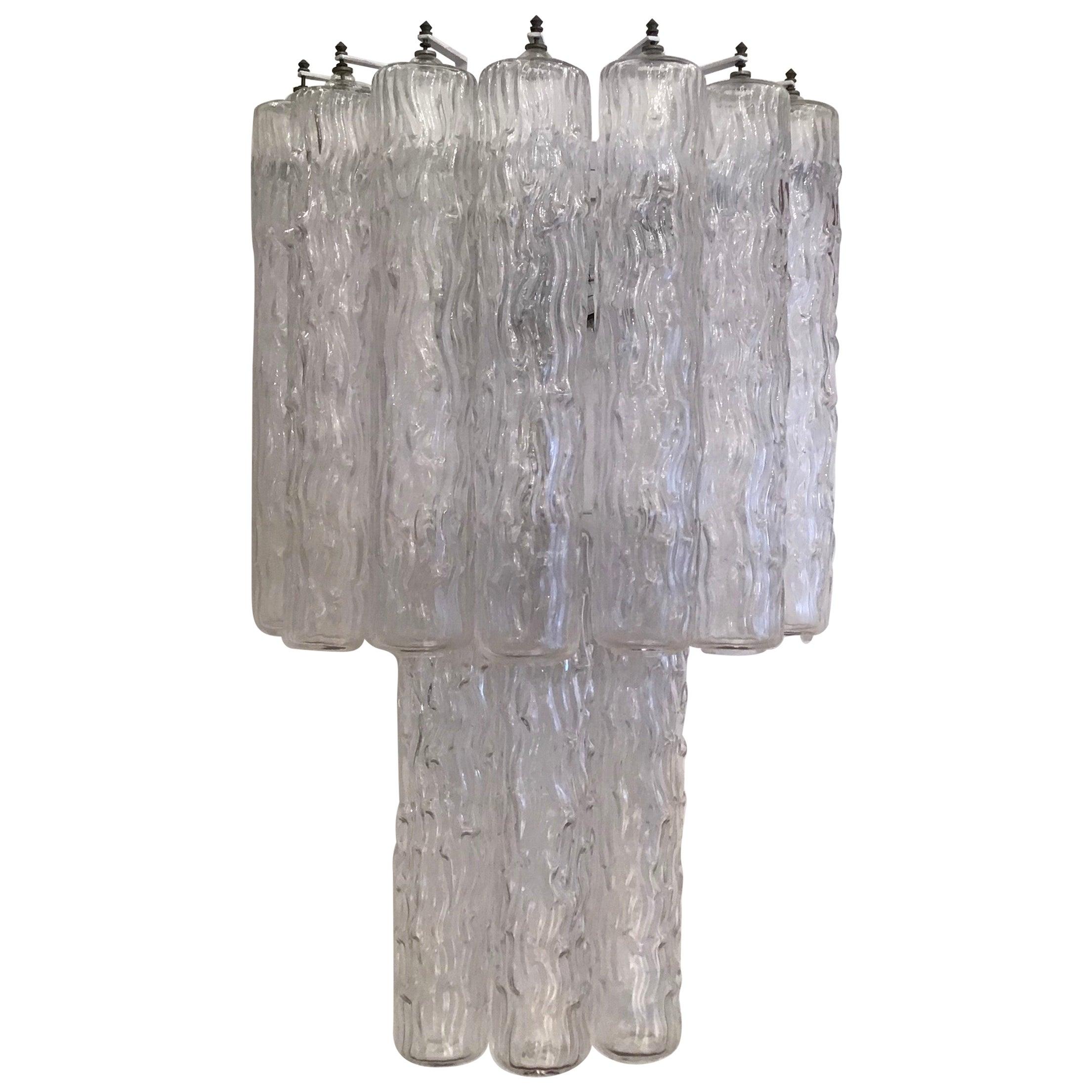 Venini Sconces Murano Glass Metal, 1955, Italy