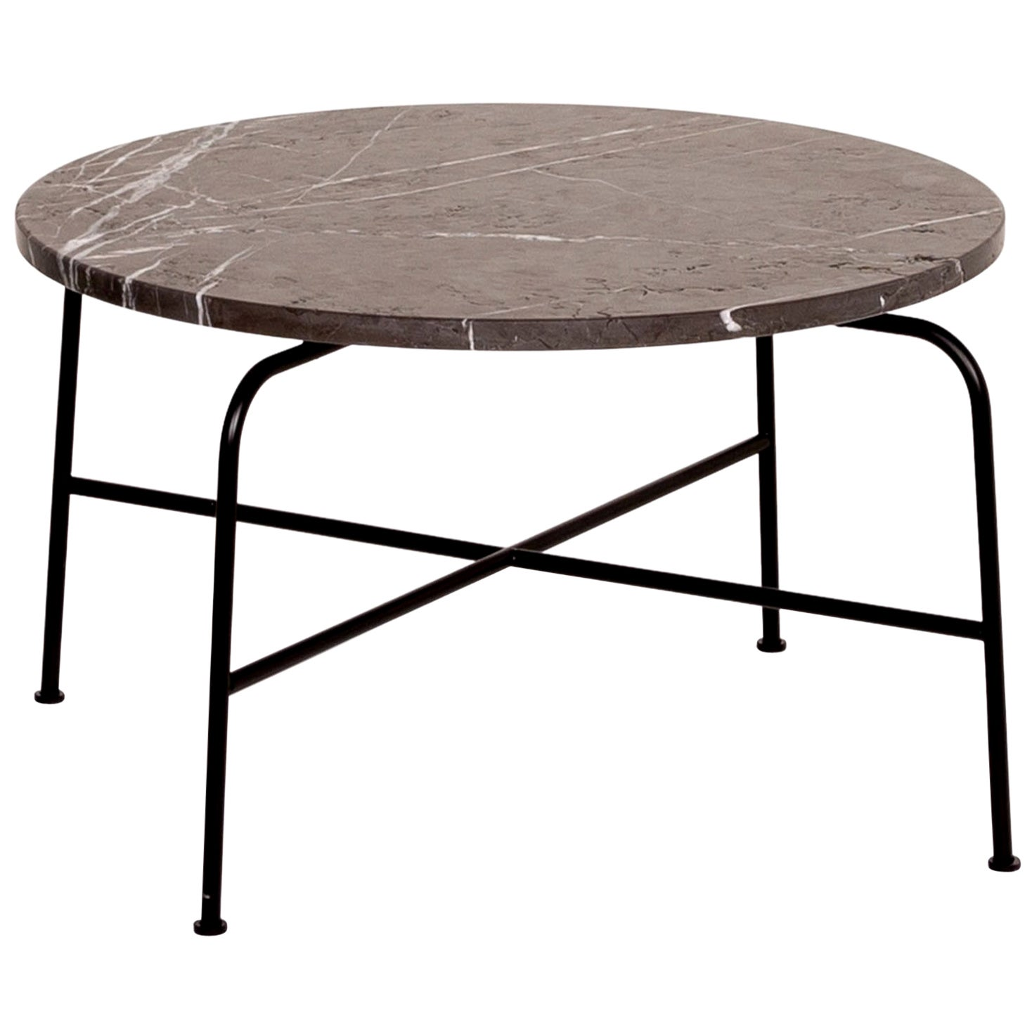 Rolf Benz 947 Graphite Coffee Table Anthracite Marbled Table Industrial