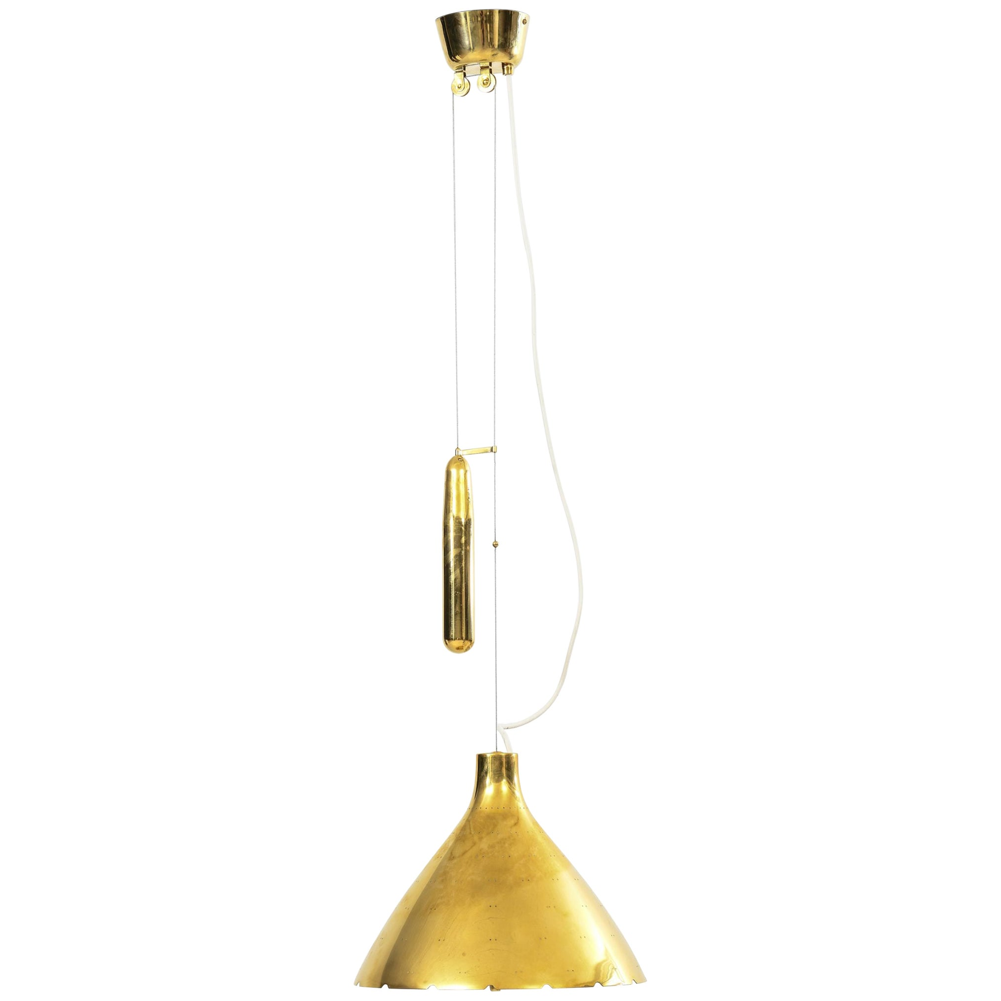 Paavo Tynell Ceiling Lamps Produced by Taito Oy in Finland