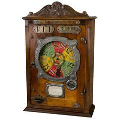 French 1911s Slot Machine 'La Roulette Bussoz'