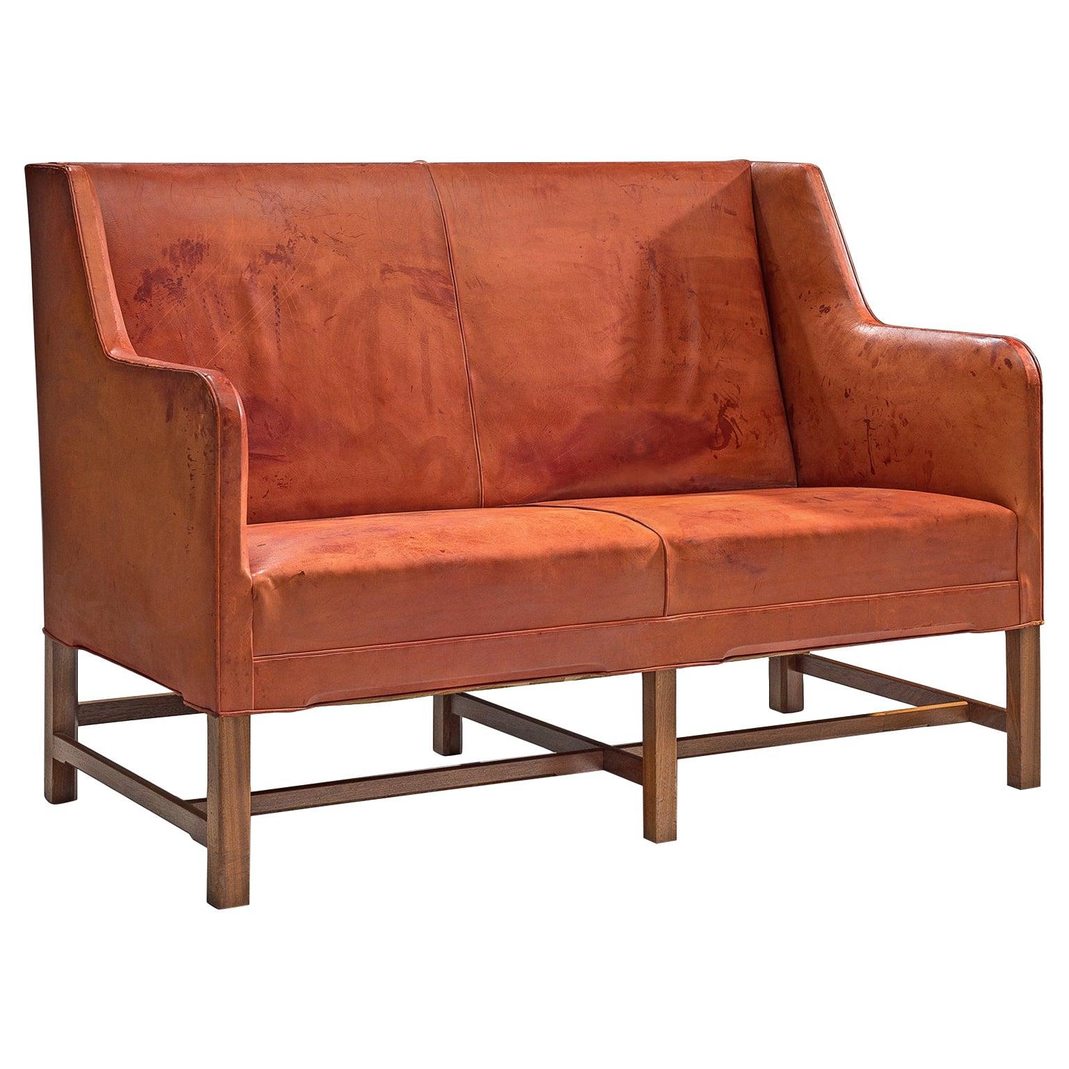 Kaare Klint for Rud Rasmussen Original Cognac Leather