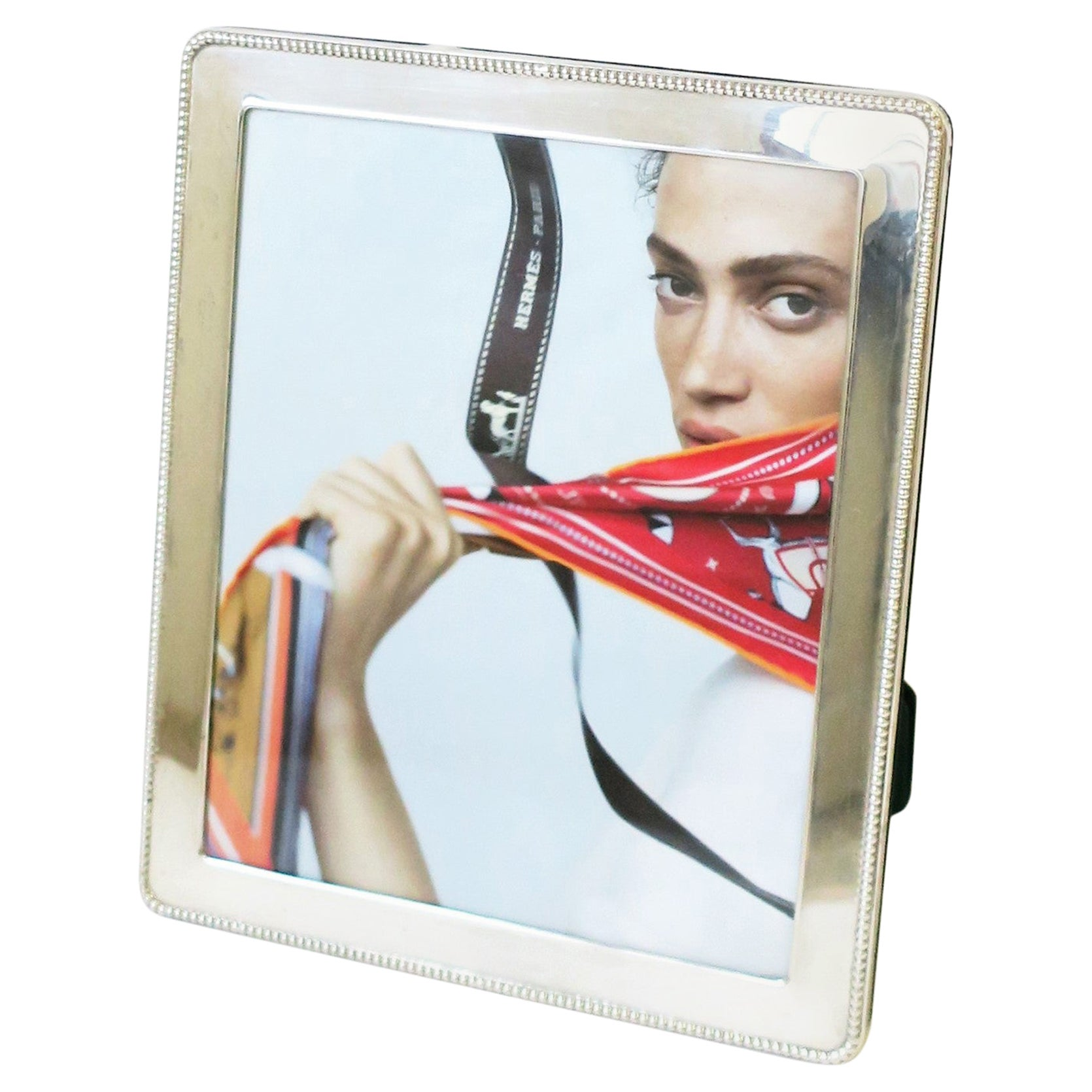 Sterling Silver Picture Frame, England