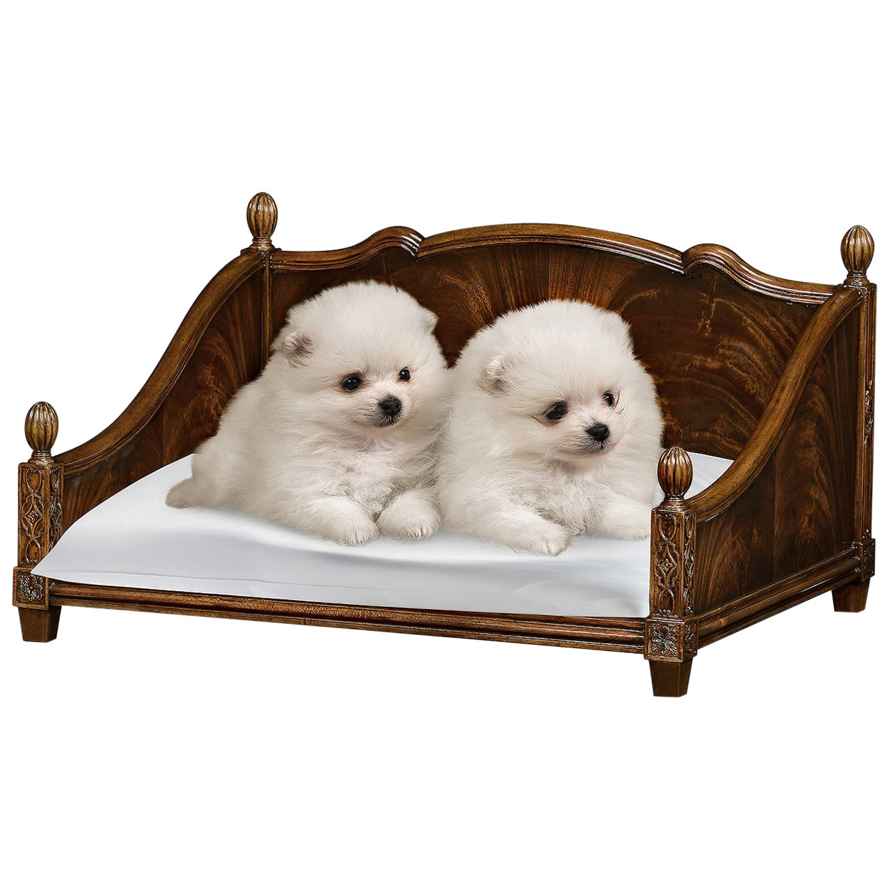 Chippendale Four Post Dog Bed