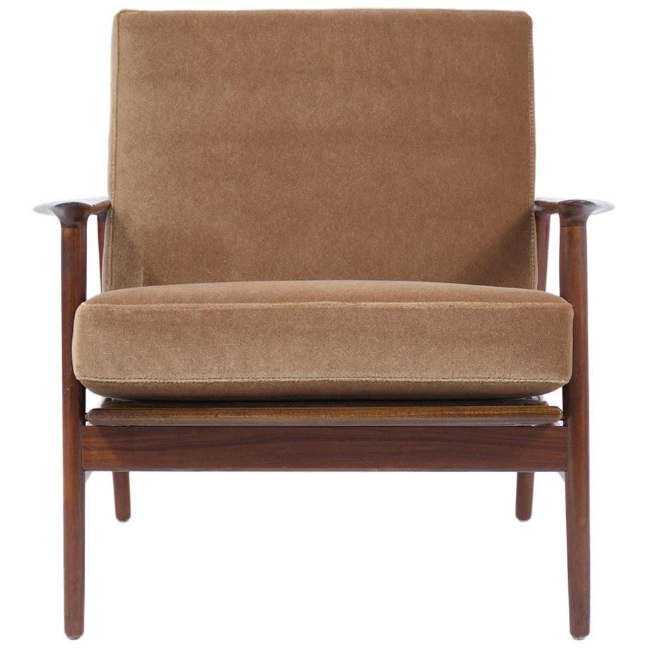 Danish Midcentury Modern Lounge Armchair