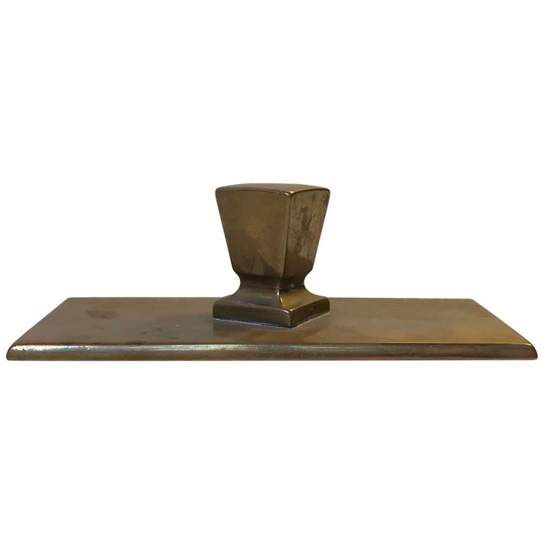 Art Deco Paperweight in Bronze, 1930s