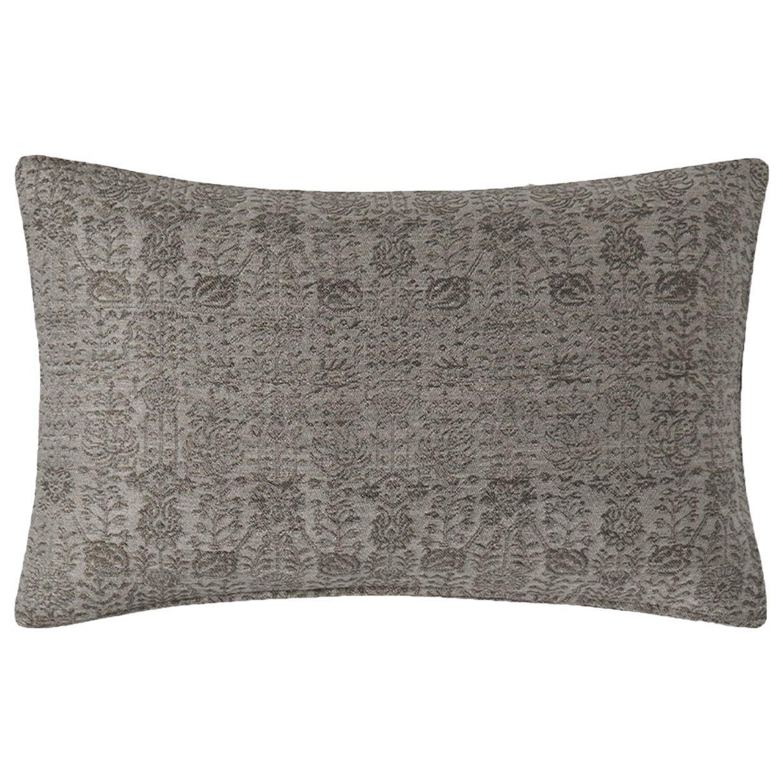 """Ben Soleimani Abra Pillow Cover - Graphite 16""""x24"""""""