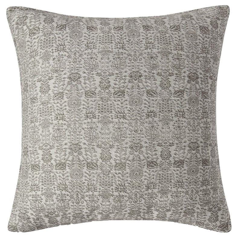 "Ben Soleimani Abra Pillow Cover - White 26""x26"""