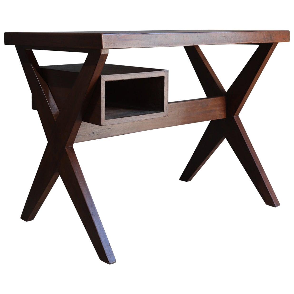 X Leg Desk by Pierre Jeanneret