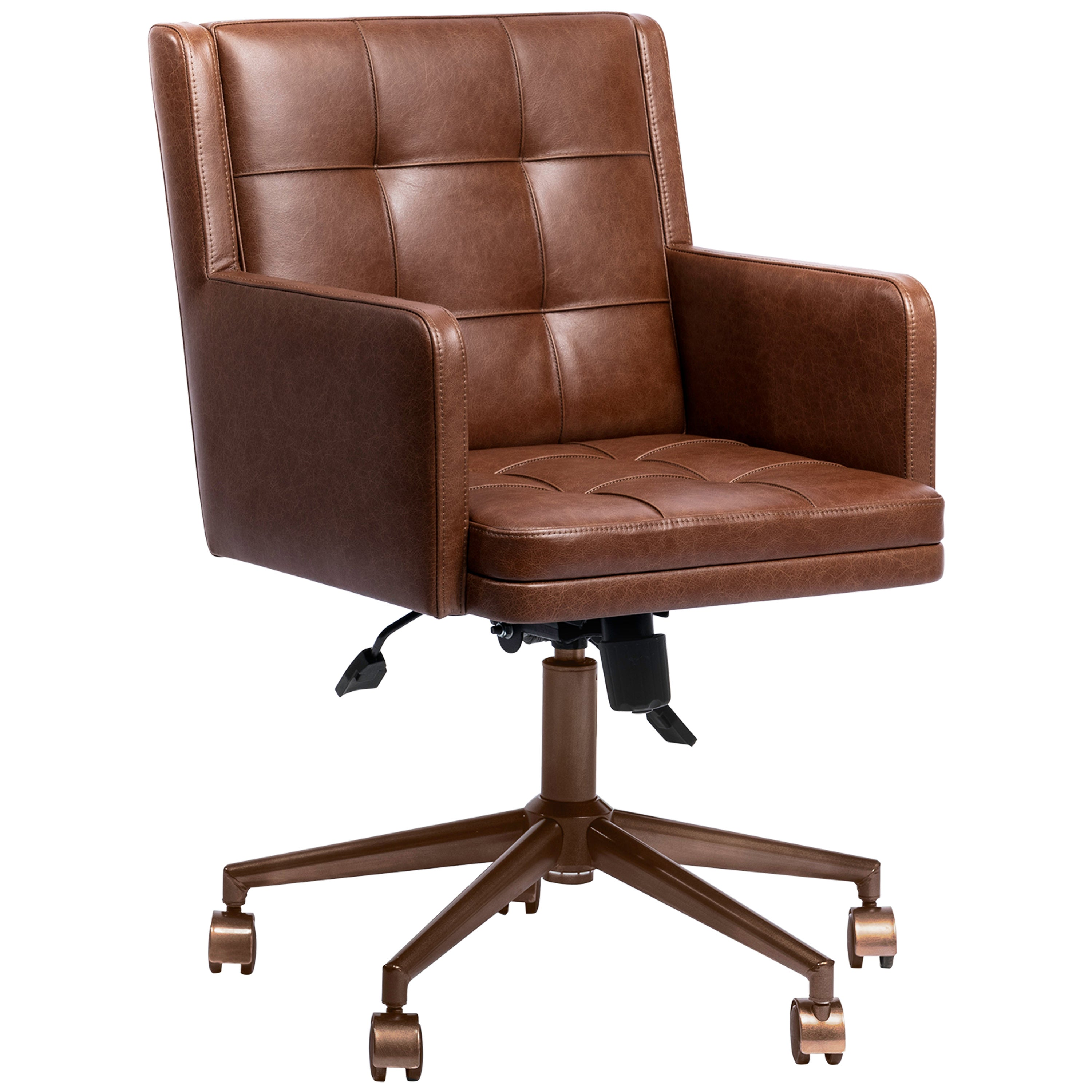 Office Chair, International Style Leather Office Chair