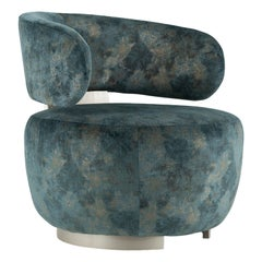21st Century Modern Caju Armchair Handcrafted in Portugal by Greenapple