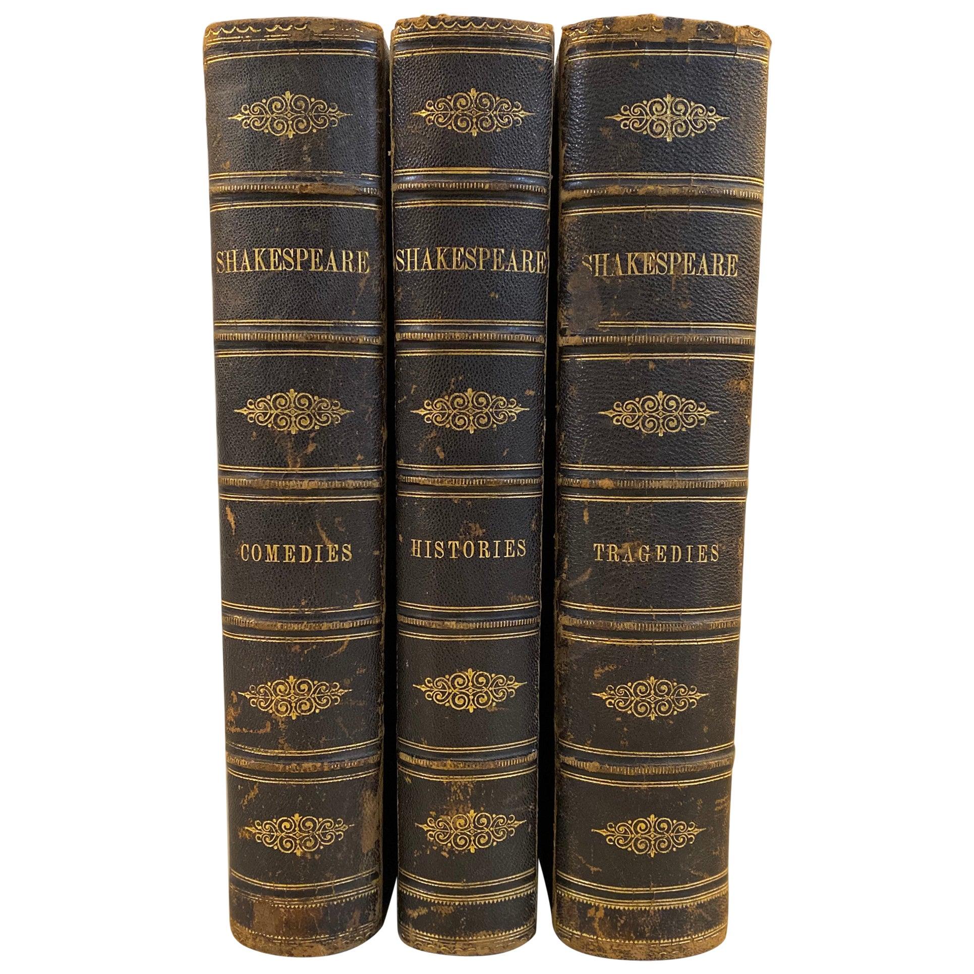 Works of William Shakespeare Comedies, Histories, Tragedies 3 Volumes