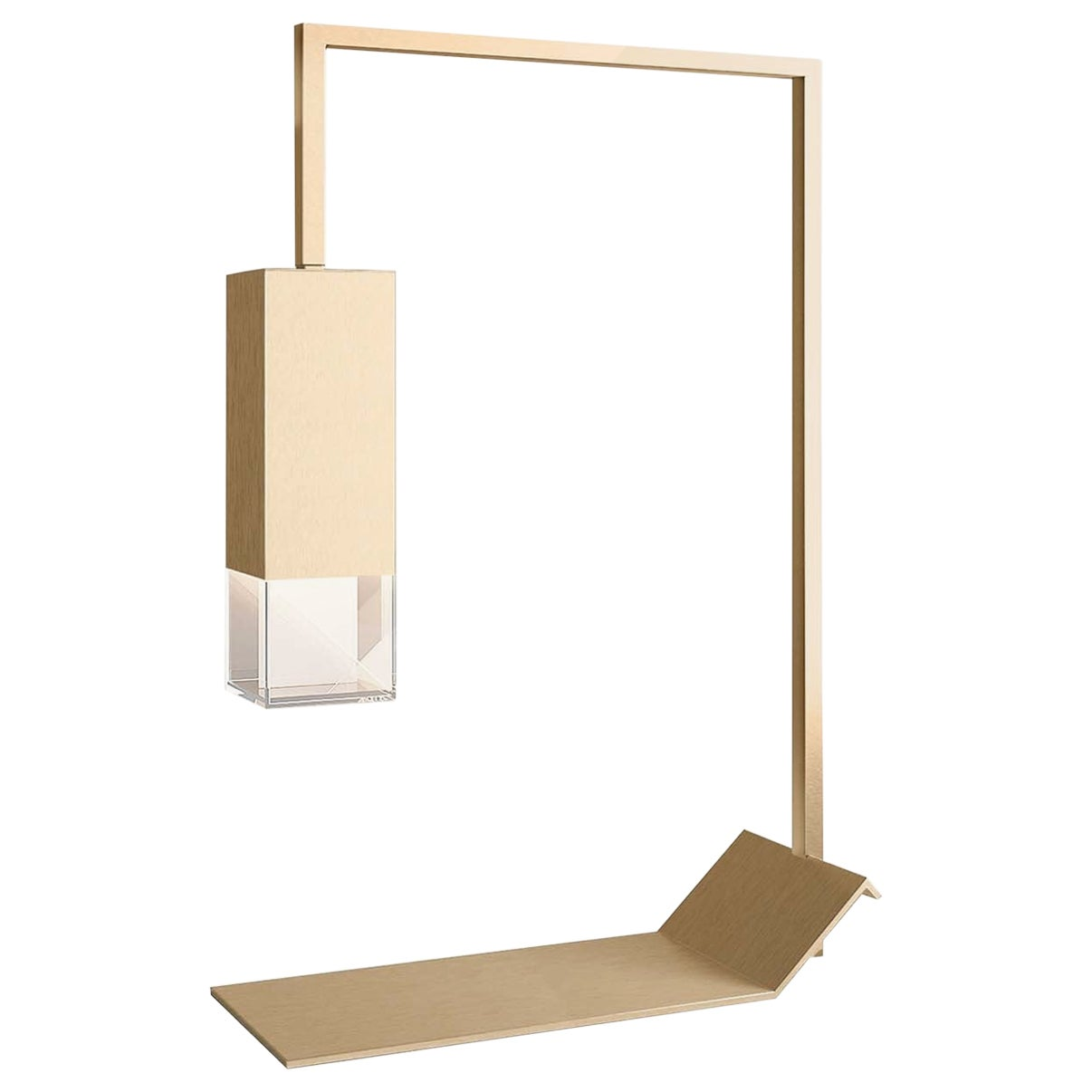 Lamp/Two Brass Table Lamp
