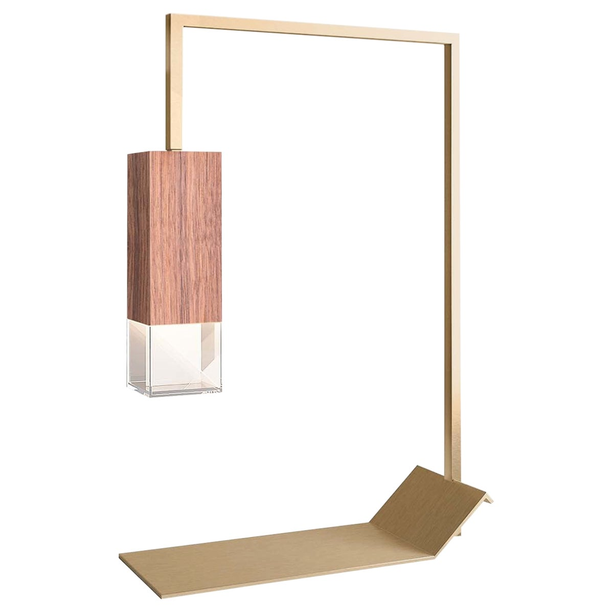 Lamp/Two Canaletto Walnut Table Lamp