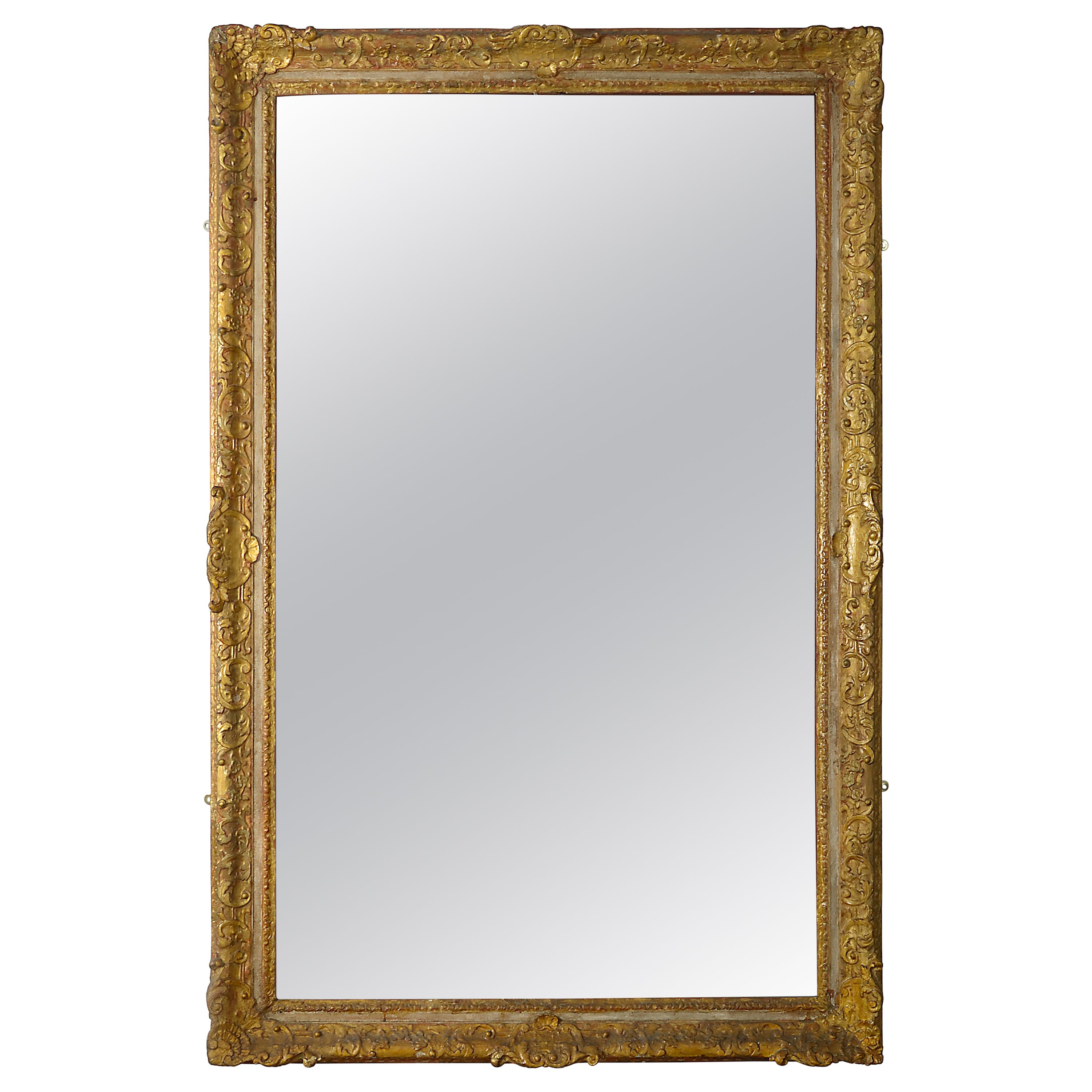 Early 18th Century Regence Period Giltwood Mirror