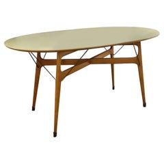 Ico and Luisa Parisi, Italian Mid-Century Modern Wooden Dining Table, circa 1950