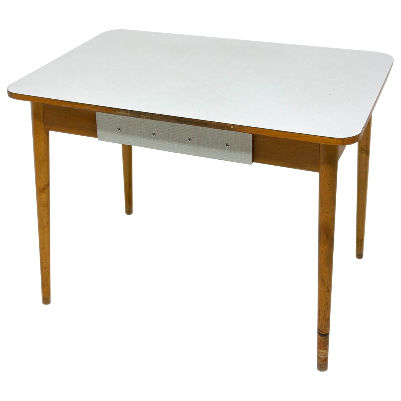 Midcentury Dining Table, Czechoslovakia, 1960s