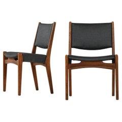 Hans Wegner Dining Chairs by Cabinetmaker Johannes Hansen in Denmark