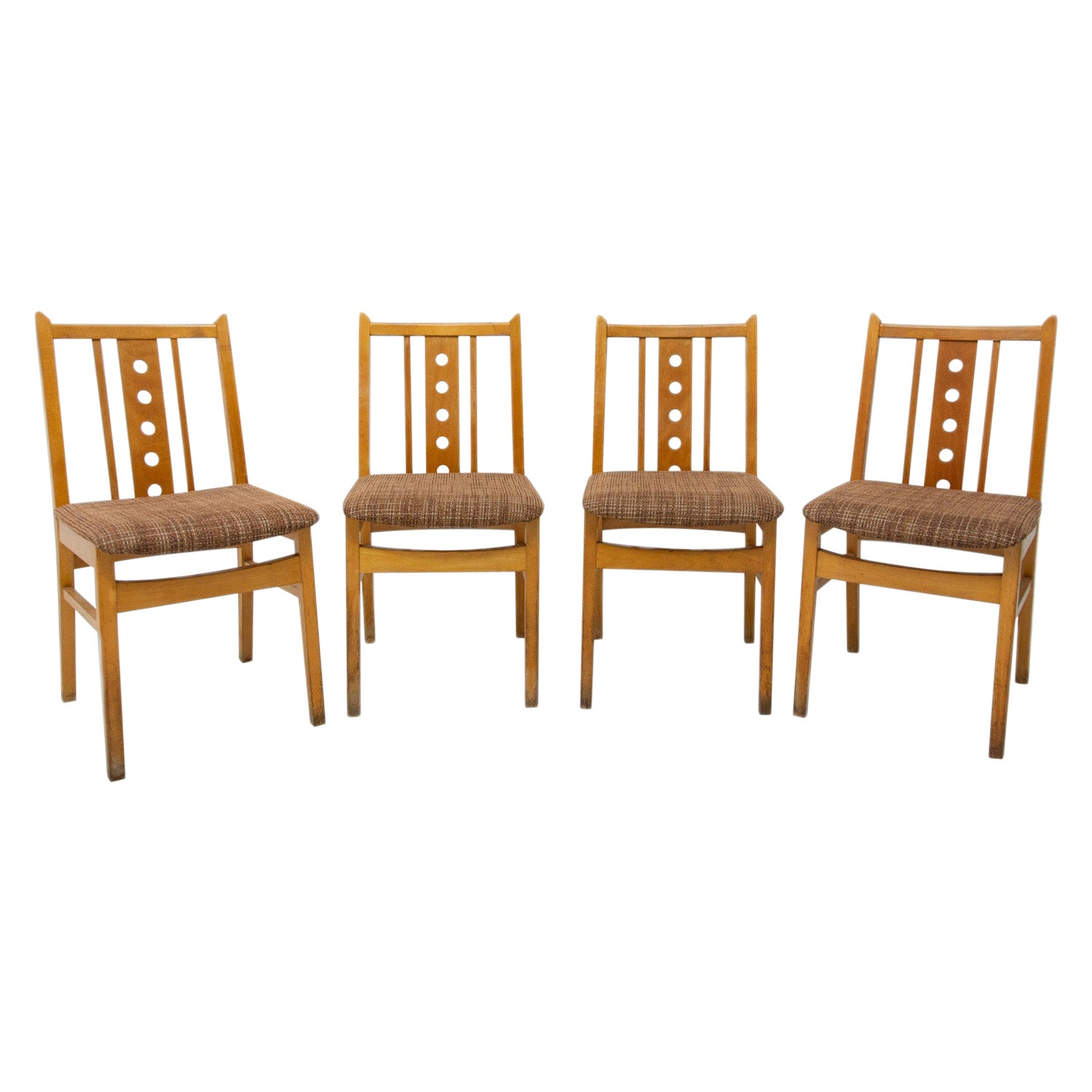Midcentury Dining Chairs, 1960s, Set of 4
