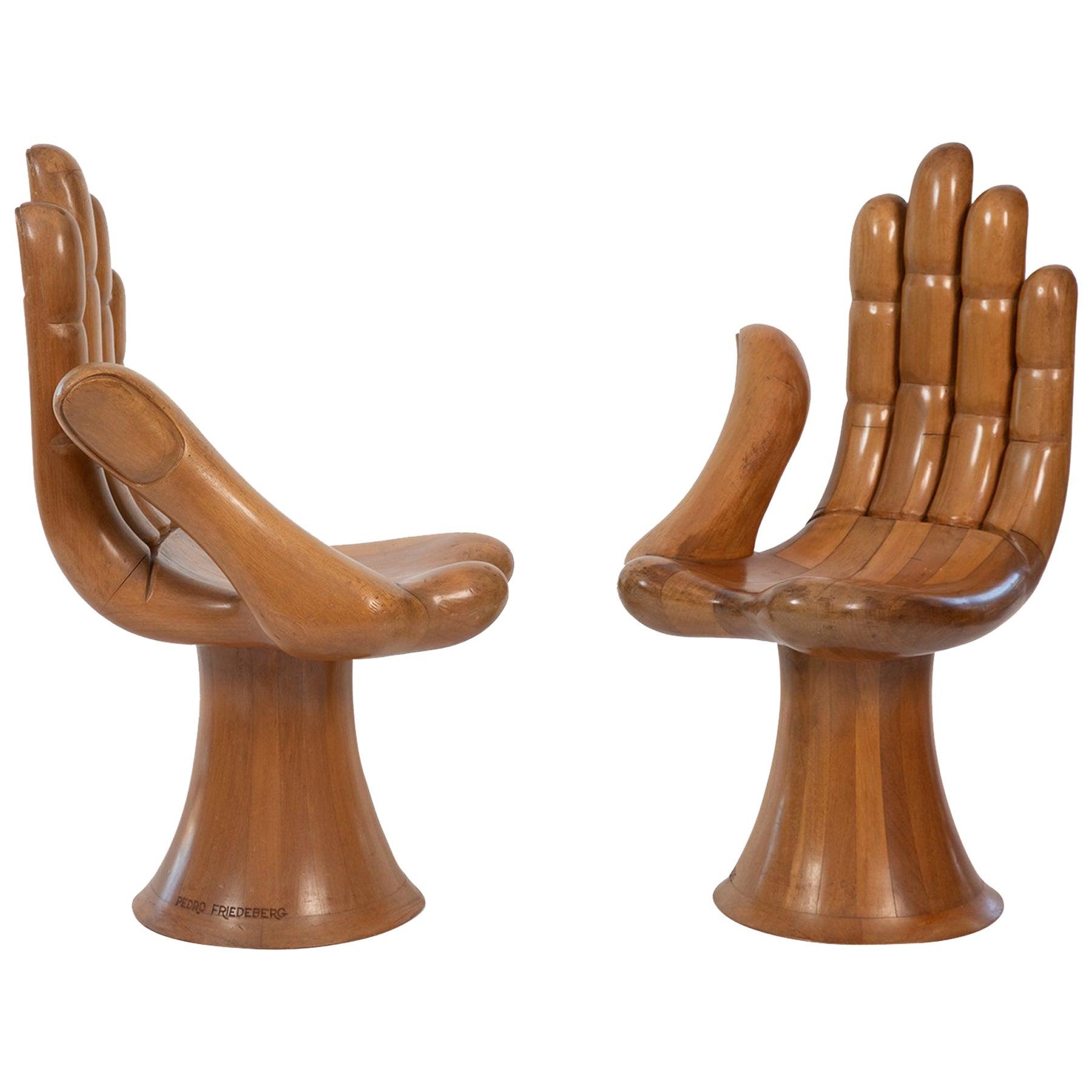 Pedro Friedeberg Hand Chairs