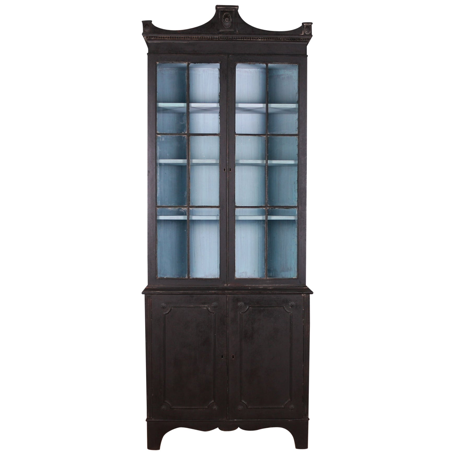 English Narrow Bookcase
