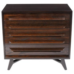 1950s Modern Lacquered Chest of Drawers