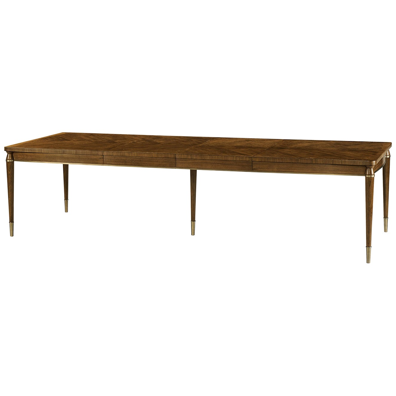 Mid-Century Modern Style Extending Dining Table