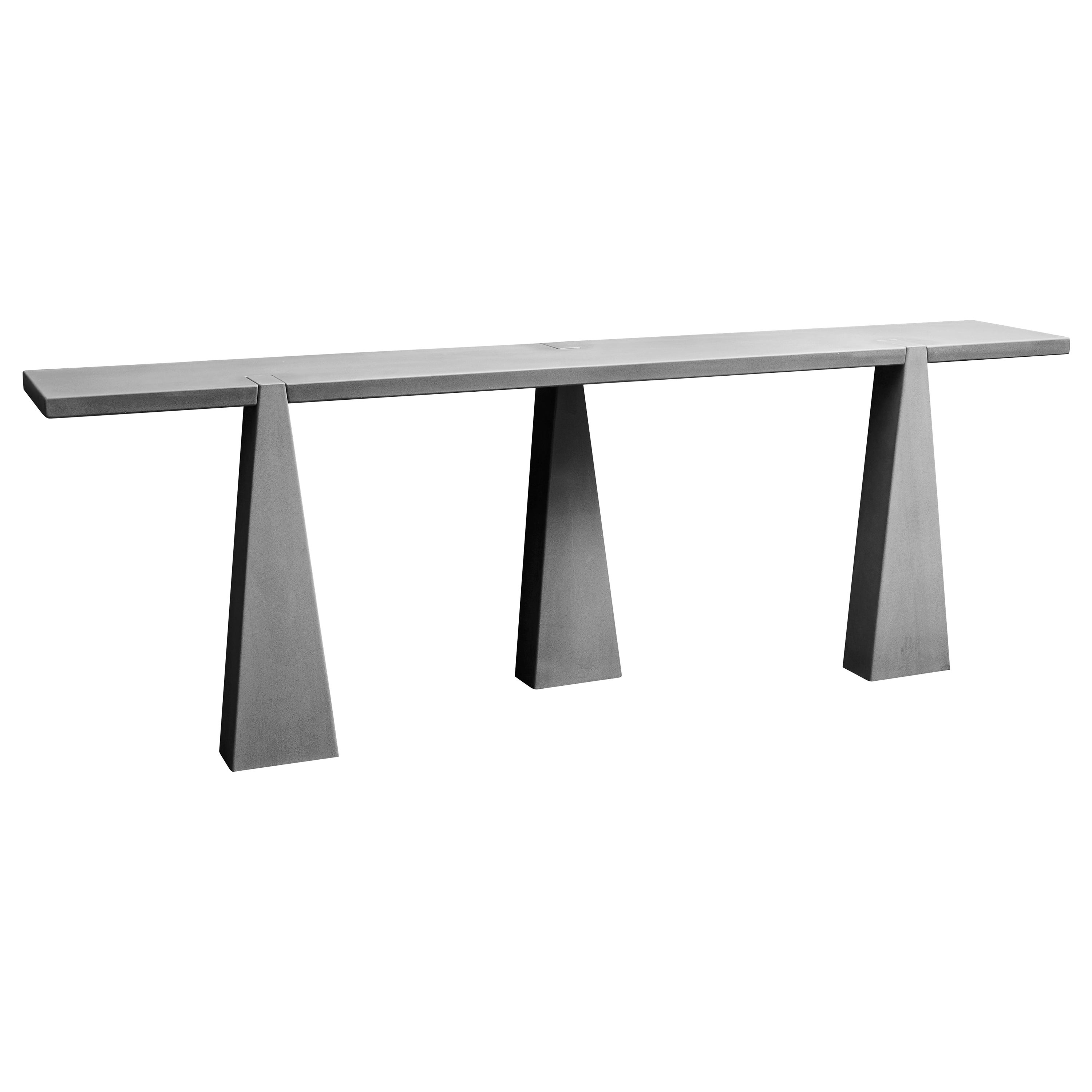 Inca Console Table by Angelo Mangiarotti for Skipper in 1978