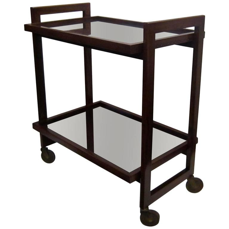 Andre Sornay Bar Cart For Sale