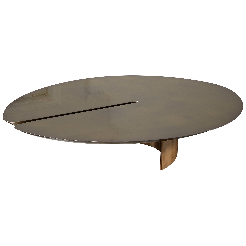 Coco de Mer Coffee Table Bronze High Gloss by À Nous Deux