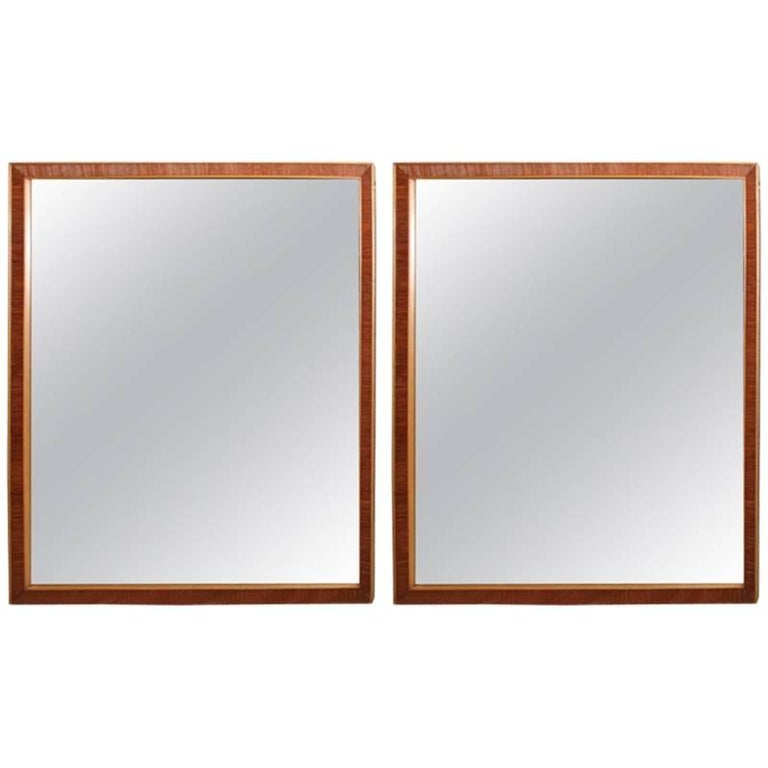 Pair of Mirrors by Paul Frankl For Sale