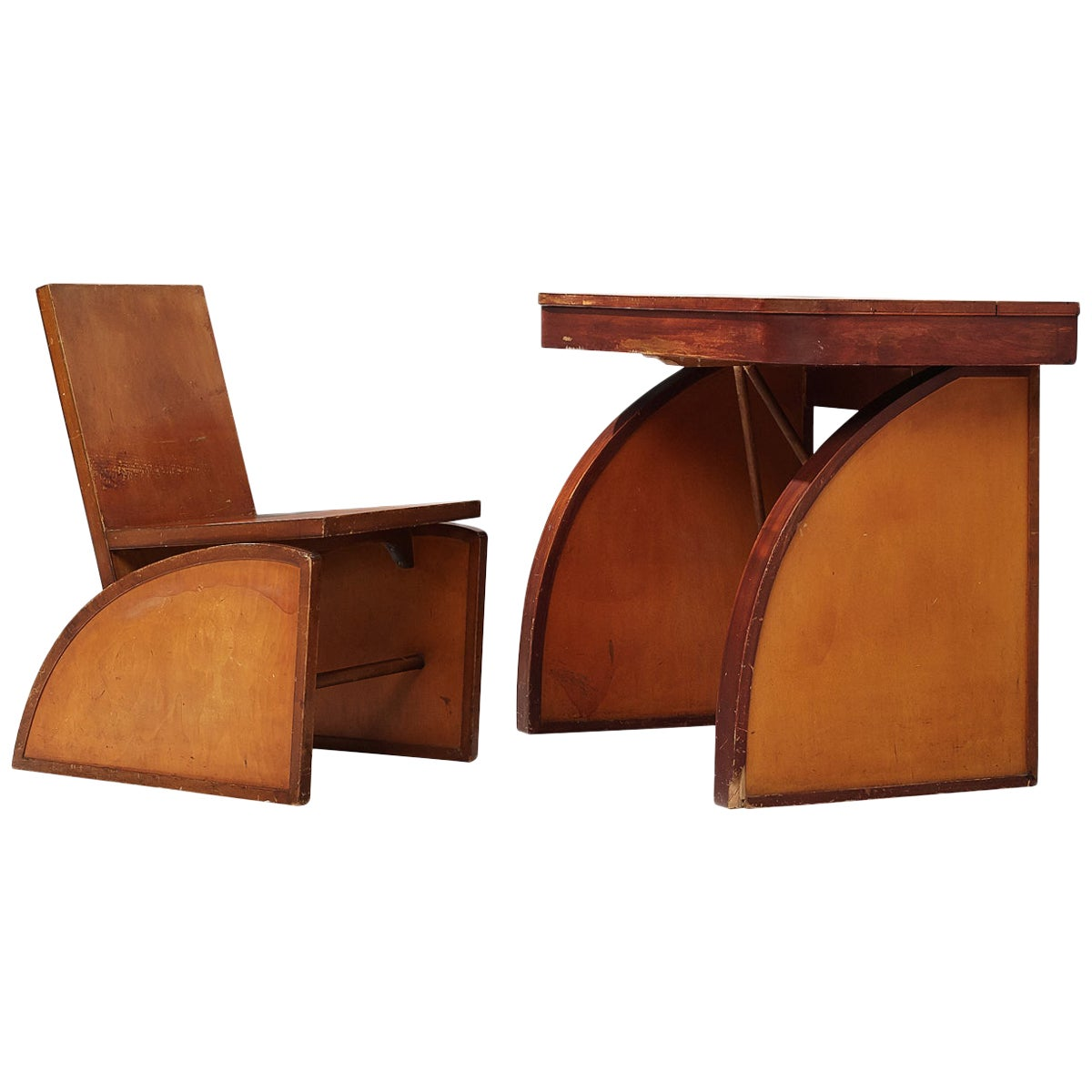 Rare Desk with Chair by Brown Saltman