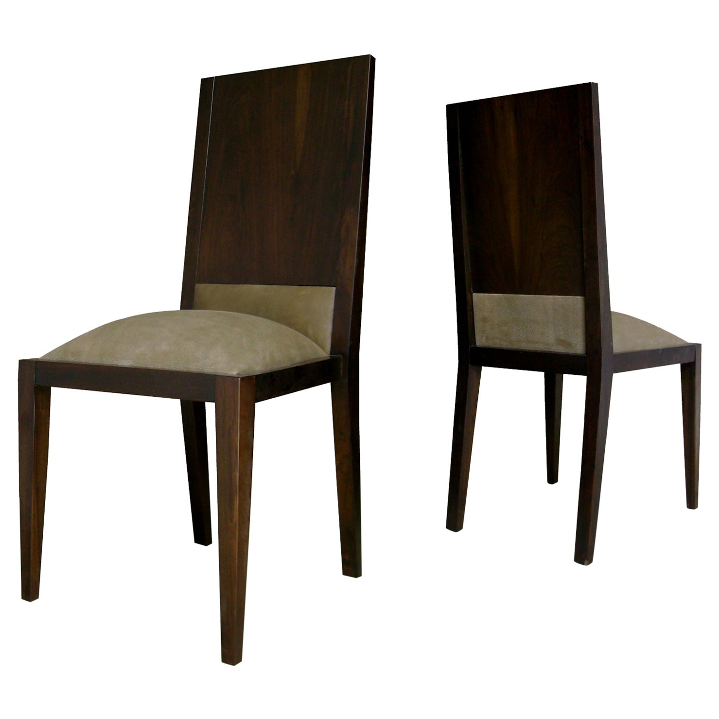 Palermo Dining Chair in Argentine Rosewood from Costantini