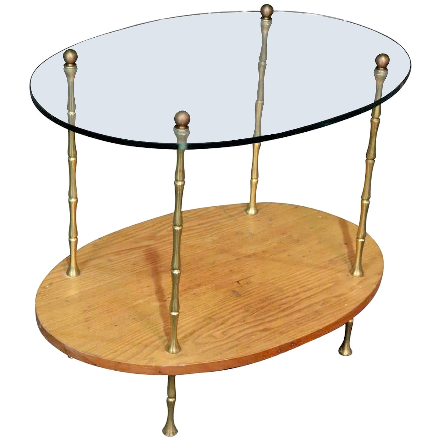 Two-Tier Bar Cart