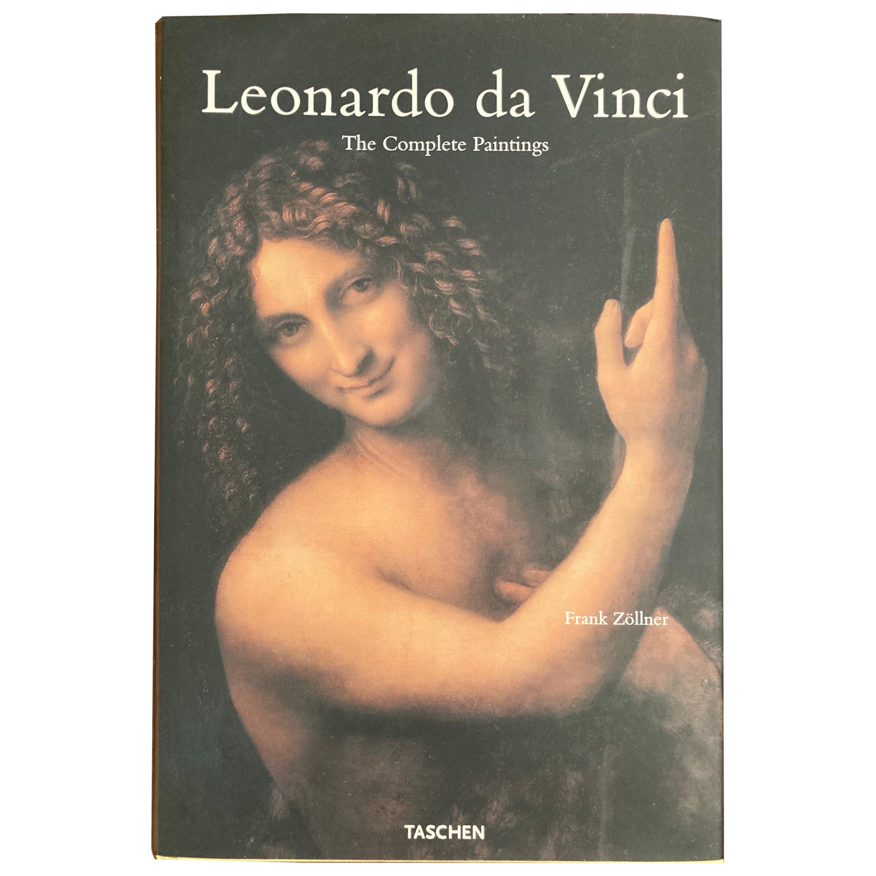 Leonardo Da Vinci The Complete Paintings, Coffee Table Art Book
