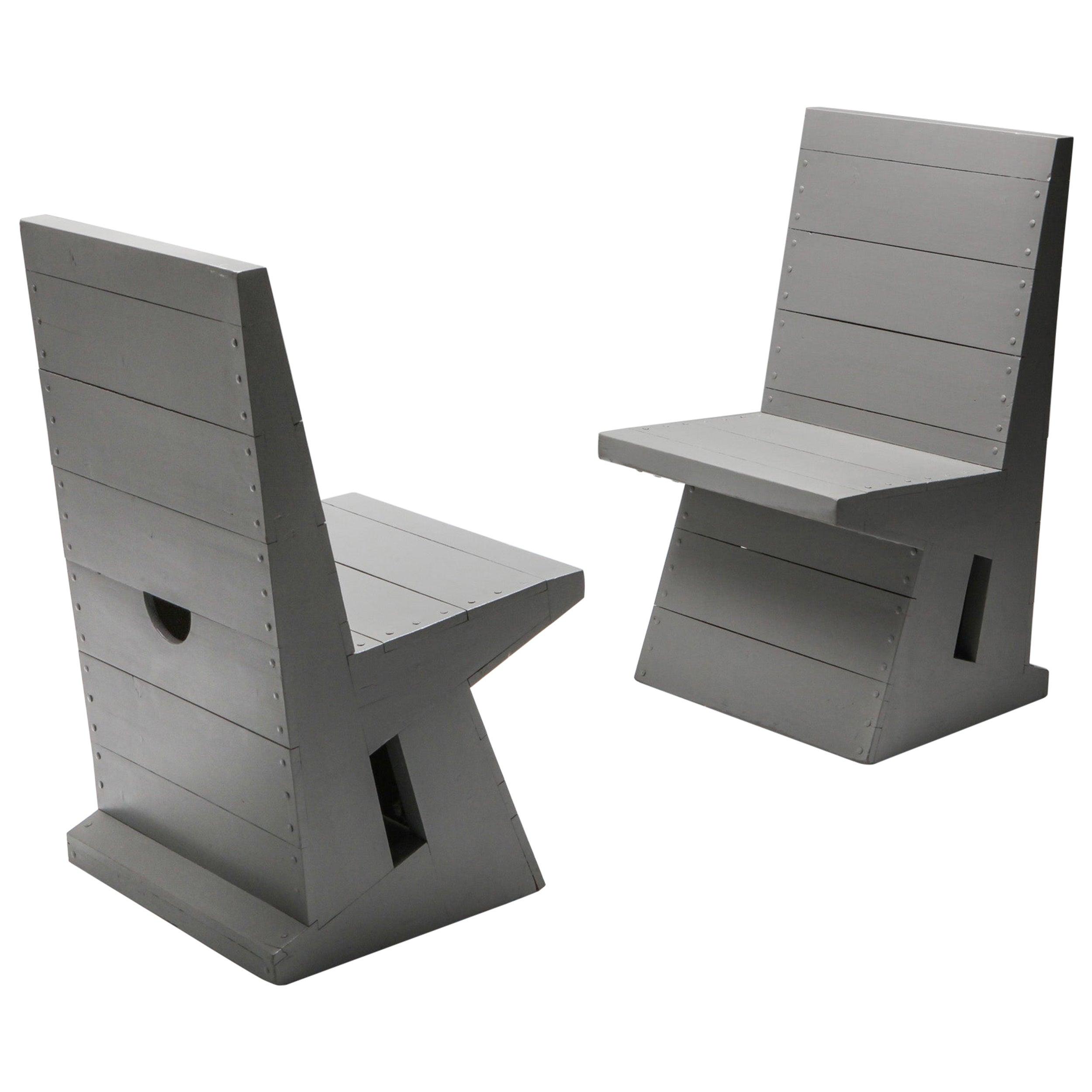 Modernist Chair by Dom Hans van der Laan