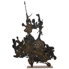 Bronze Spillcast Sculpture