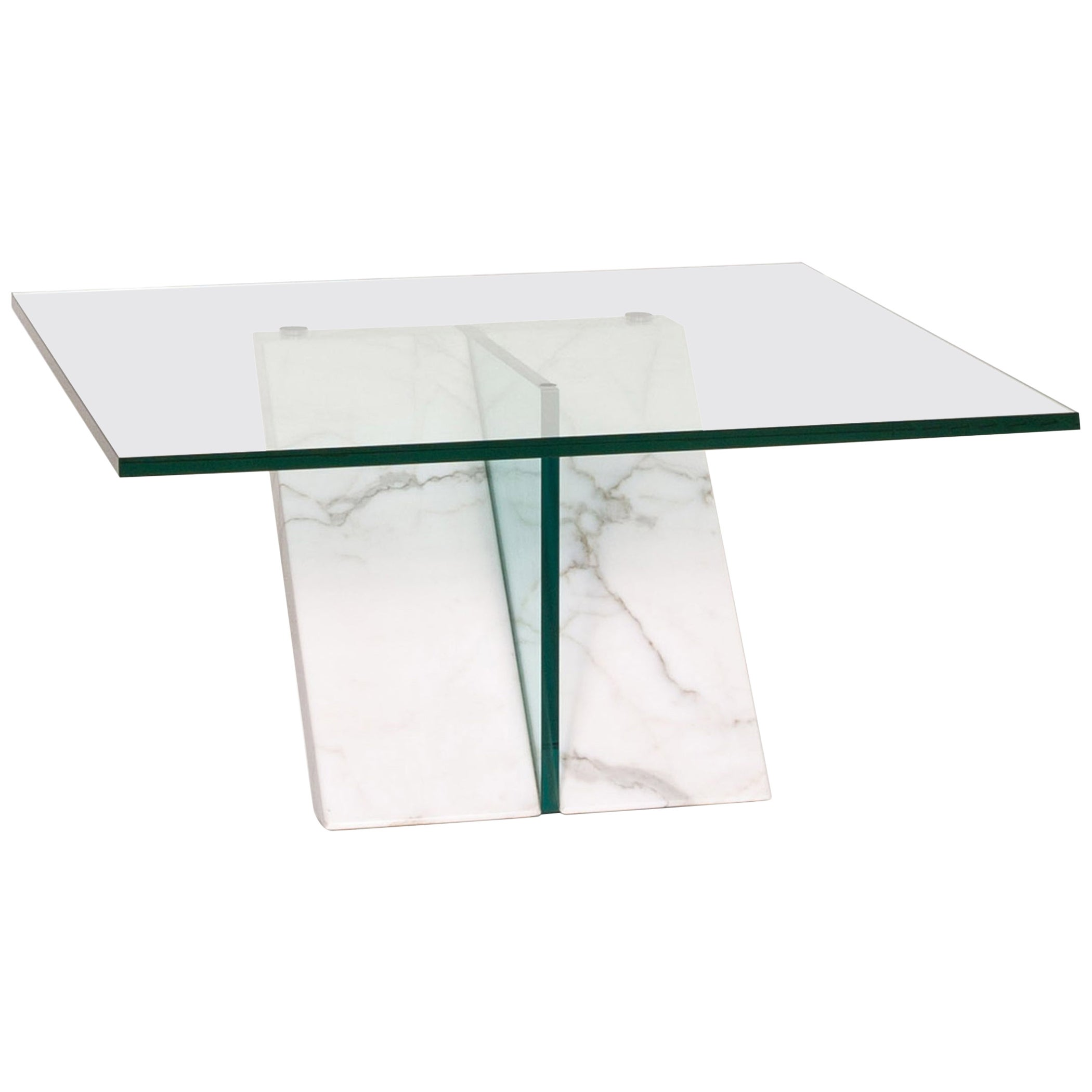 Ronald Schmitt Glass Marble Coffee Table