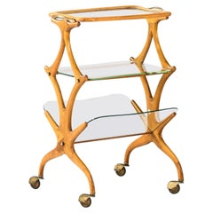 Trolley Attributed to Cesare Lacca Produced in Italy