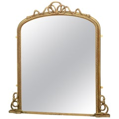 Victorian Gilded Wall Mirror