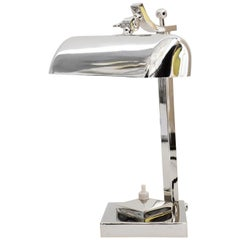 Swiveling Art Deco Table Lamp, circa 1920s