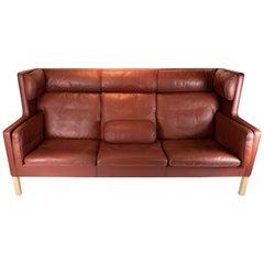 Kupe 3-Seat Sofa, Model 2193, Designed by Børge Mogensen in 1971