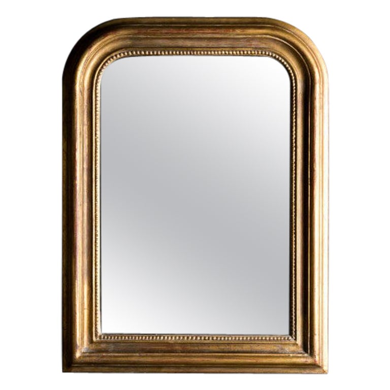 Hand Carved Napoleon III Style Louis Philippe Mirror, Small