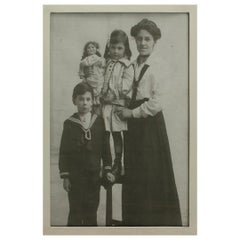 Antique Sterling Silver Photograph Frame