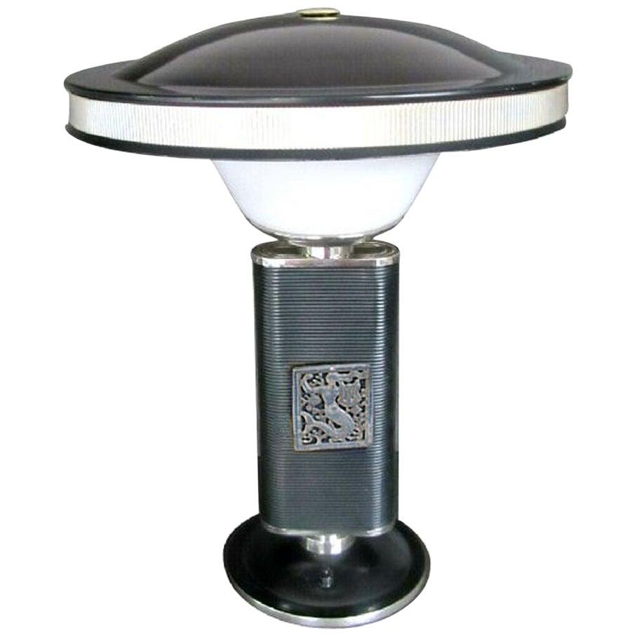 Iconic Eileen Gray Mermaid Table Lamp by Jumo