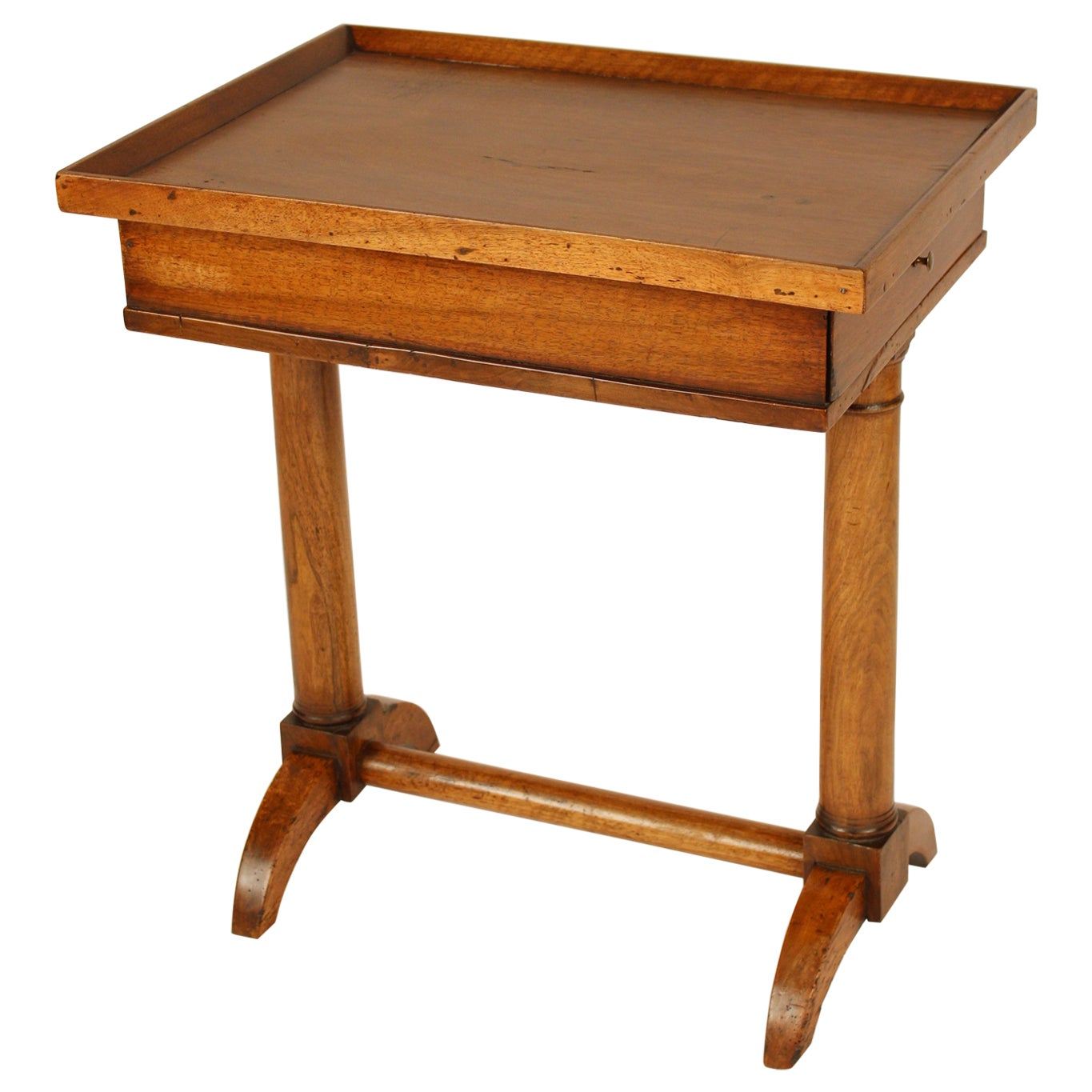 Charles X Tray Top Side Table