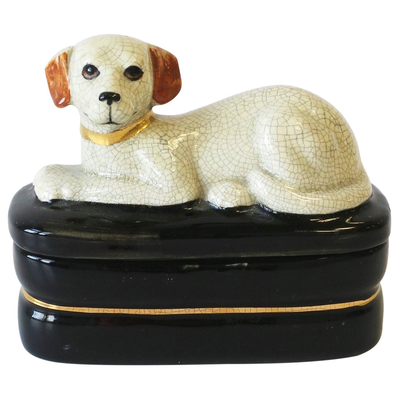 Retriever Dog Trinket or Jewelry Box
