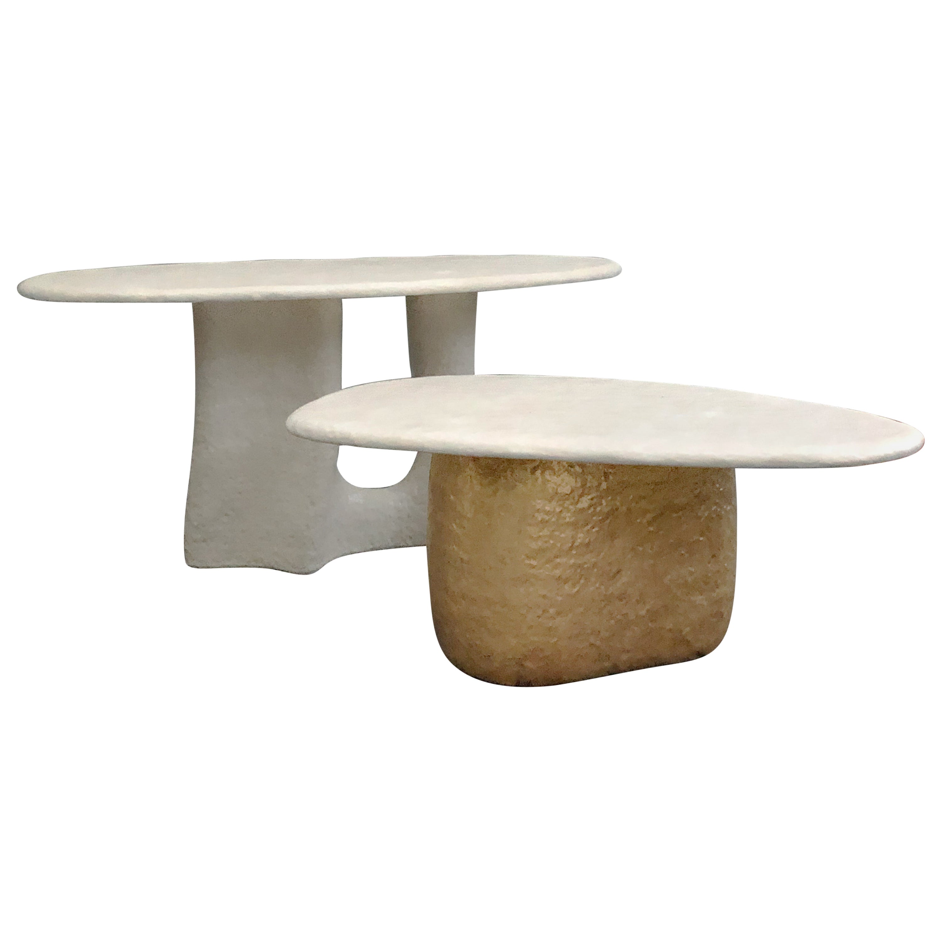 Big Table 'small' Contemporary Table in Ceramic by MYK Studio